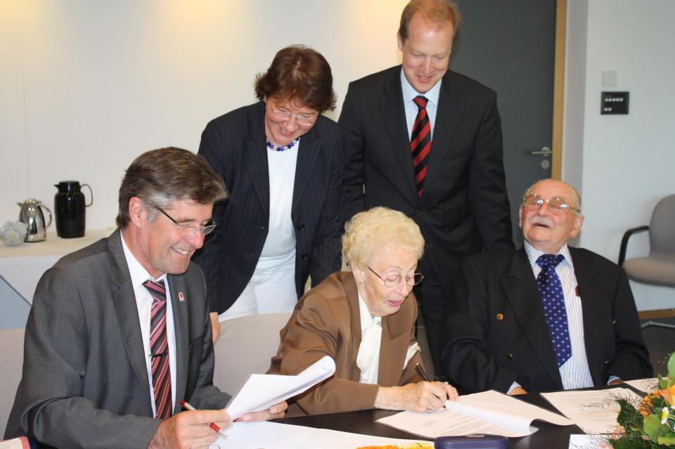 Stiftungsgründung in der Sparkasse Lemgo in Bad Salzuflen